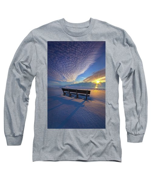 Long Sleeve T-Shirt featuring the photograph A Whole World In Front Of Us by Phil Koch