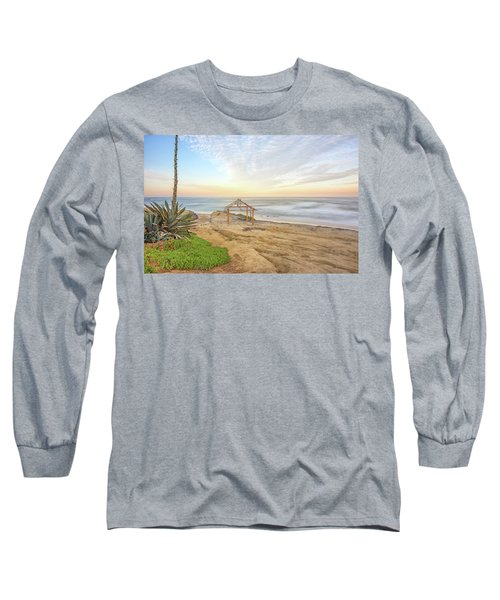 A Windansea Morning Long Sleeve T-Shirt by Joseph S Giacalone