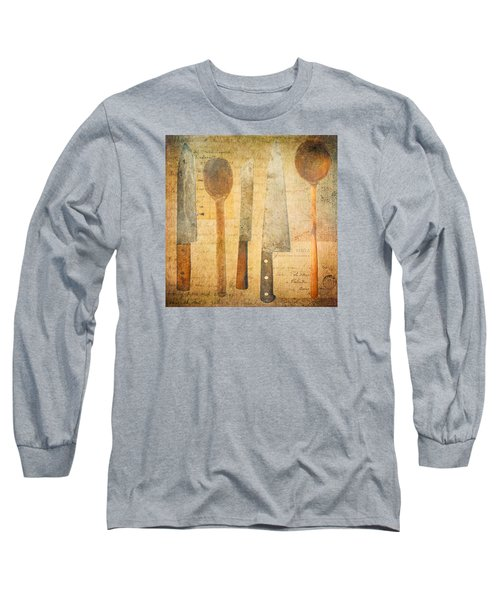 A Woman's Tools Long Sleeve T-Shirt by Lisa Noneman