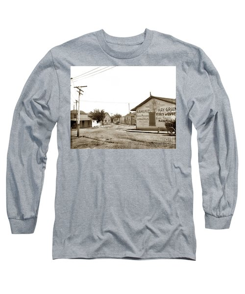 A. A. Manuel General Merchandise, Monterey 1901 Long Sleeve T-Shirt