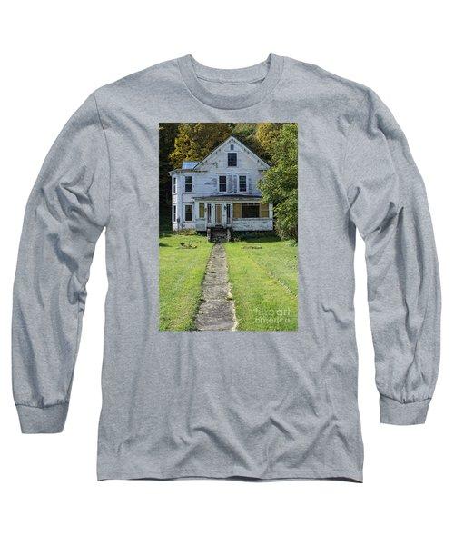 Abandoned Home, Lyndon, Vt. Long Sleeve T-Shirt