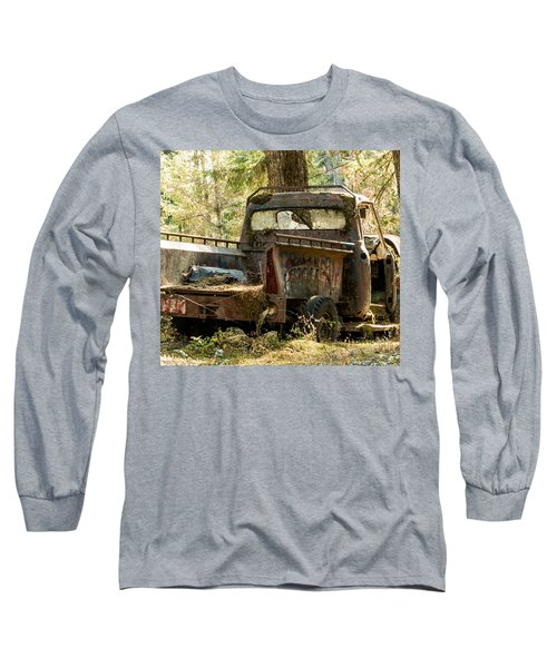 Long Sleeve T-Shirt featuring the photograph Abandoned And Abused by E Faithe Lester