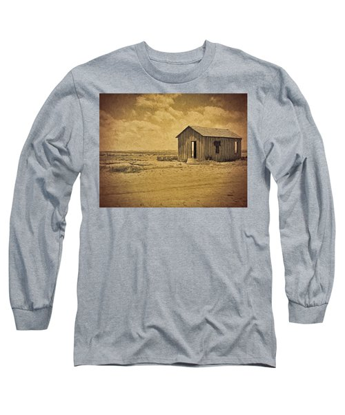 Abandoned Dust Bowl Home Long Sleeve T-Shirt