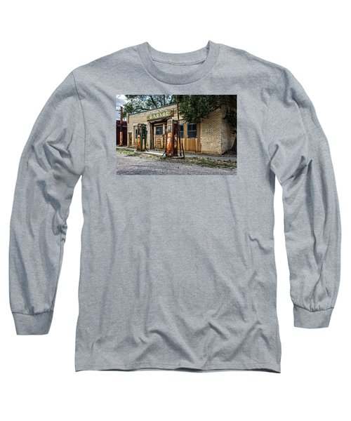 Abandoned Garage Long Sleeve T-Shirt