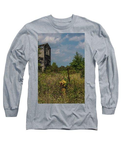 Abandoned Hydrant Long Sleeve T-Shirt