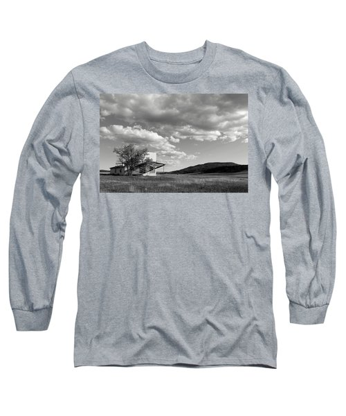Abandoned In Wyoming Long Sleeve T-Shirt