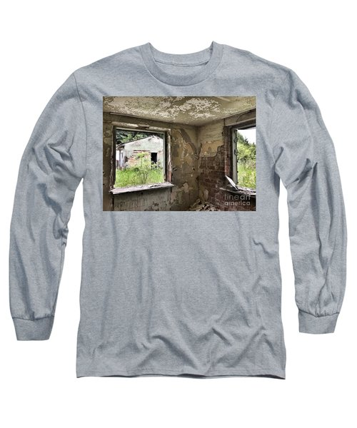 Abandoned Old Ammunition Depot Of The Belgian Army  Long Sleeve T-Shirt