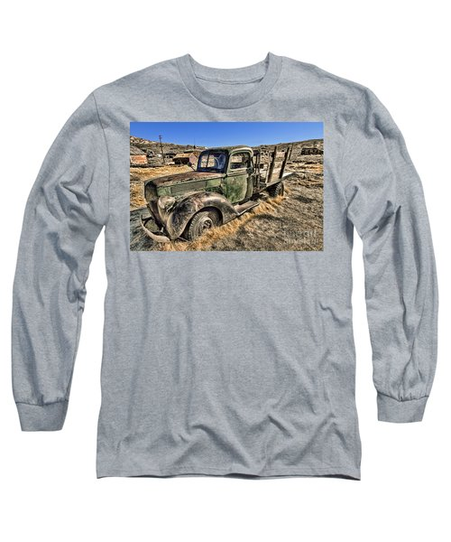 Abandoned Truck Long Sleeve T-Shirt