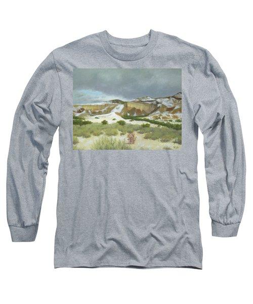 Abiquiu In Winter Long Sleeve T-Shirt