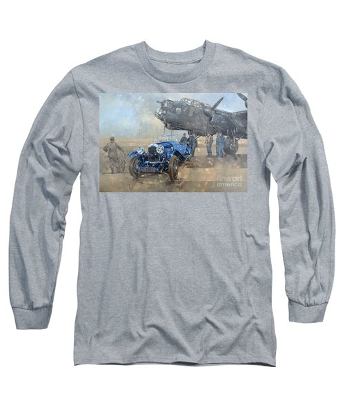 Able Mable And The Blue Lagonda  Long Sleeve T-Shirt