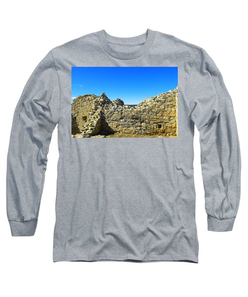 Long Sleeve T-Shirt featuring the photograph Abo Mission Ruins New Mexico by Jeff Swan