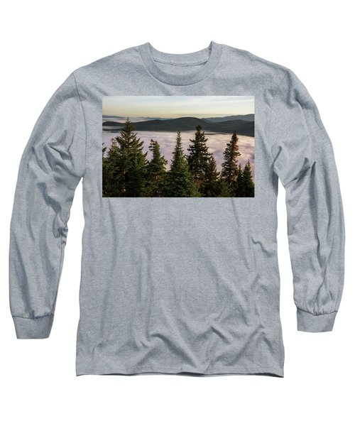 Above The Clouds Long Sleeve T-Shirt