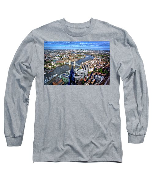 Long Sleeve T-Shirt featuring the photograph Above The Shadow Of The Shard by Jim Albritton