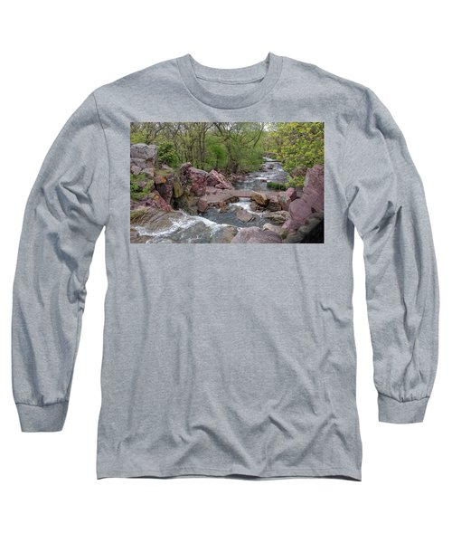 Above Winnewissa Falls 2 Long Sleeve T-Shirt