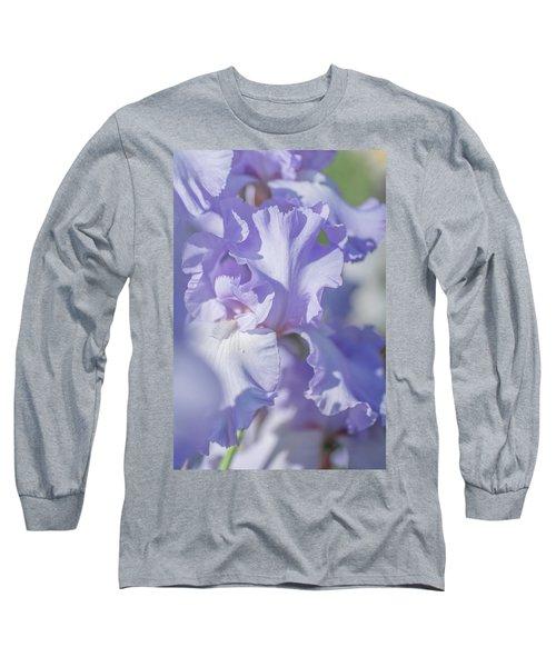 Absolute Treasure Closeup 2. The Beauty Of Irises Long Sleeve T-Shirt