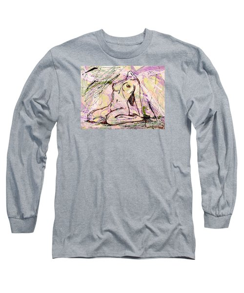 Absorbing Woman  Long Sleeve T-Shirt