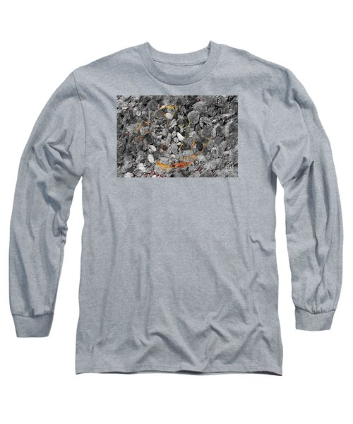 Long Sleeve T-Shirt featuring the digital art Absorption by Leo Symon