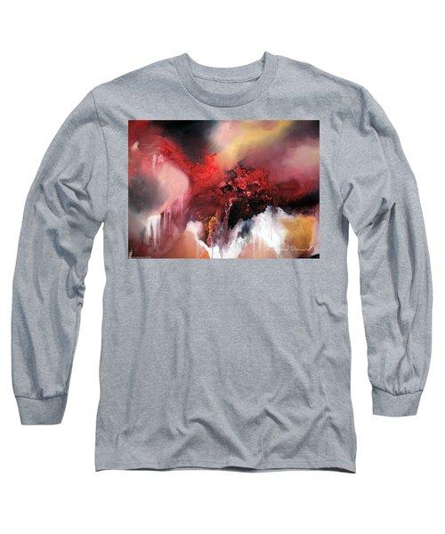 Abstract #02 Long Sleeve T-Shirt by Raymond Doward