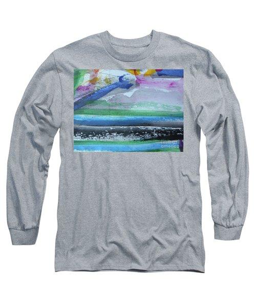 Abstract-18 Long Sleeve T-Shirt