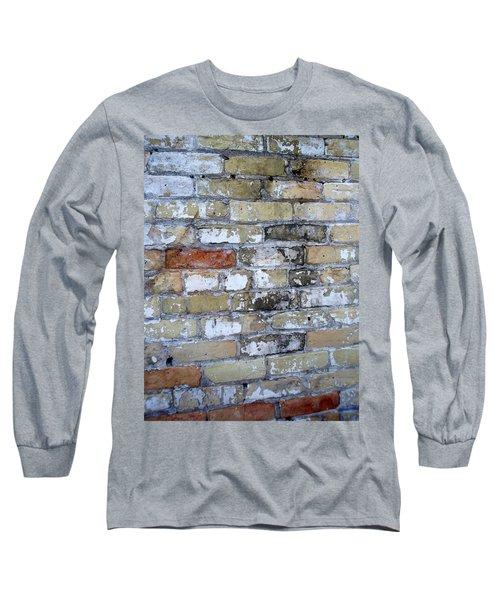 Abstract Brick 10 Long Sleeve T-Shirt