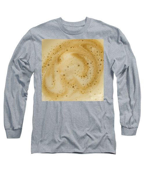 Abstract Coffee Long Sleeve T-Shirt