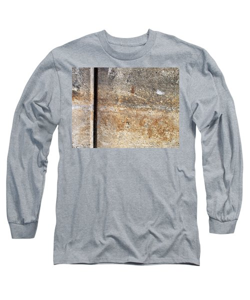 Abstract Concrete 17 Long Sleeve T-Shirt