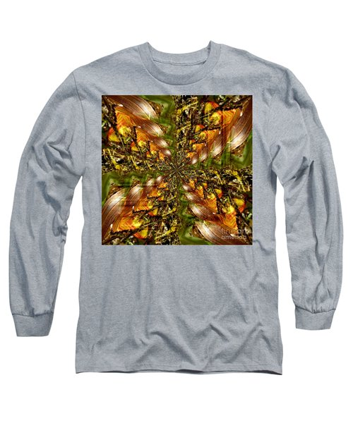 Abstract Cornfield 1 Long Sleeve T-Shirt