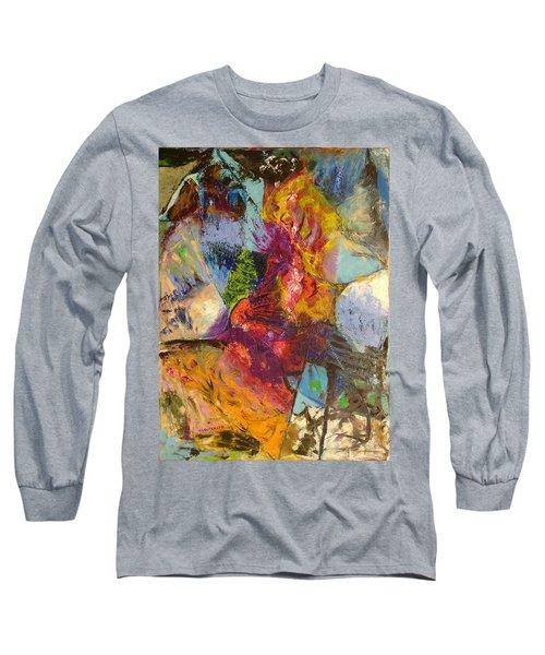Abstract Depths Long Sleeve T-Shirt