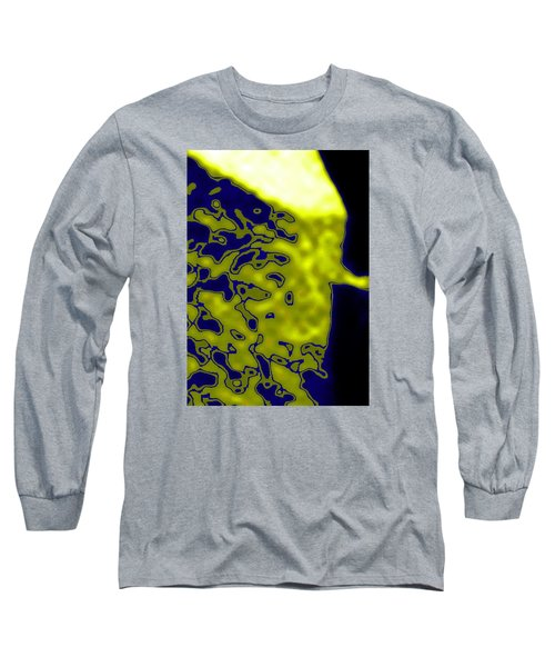 Abstract Digital Long Sleeve T-Shirt