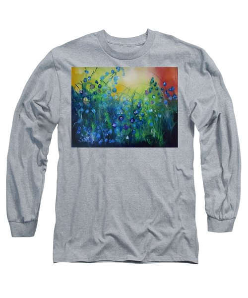 Abstract Flax           31 Long Sleeve T-Shirt