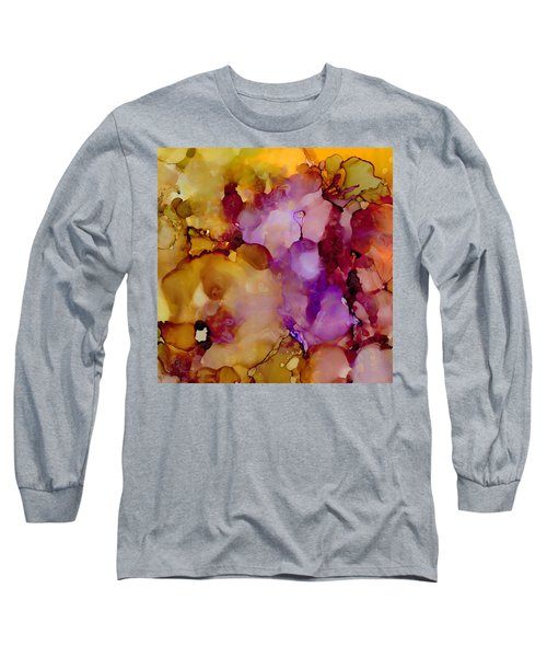 Abstract Floral #22 Long Sleeve T-Shirt