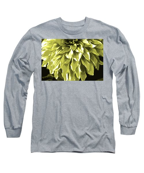 Abstract Flower 5 Long Sleeve T-Shirt