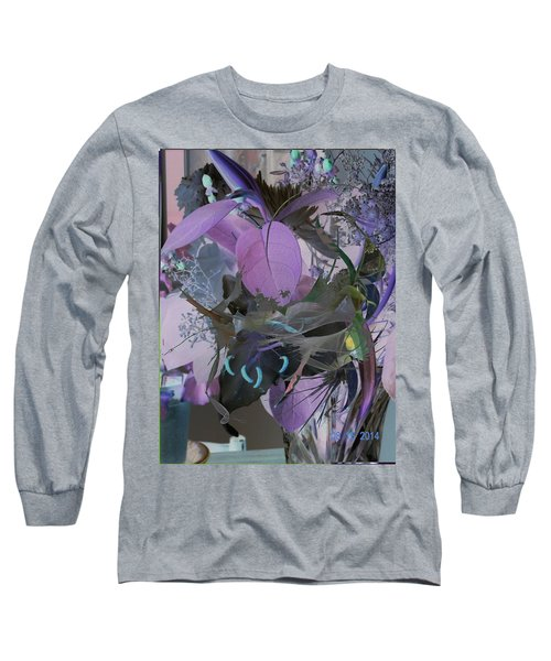 Abstract Flowers Of Light Series #12 Long Sleeve T-Shirt