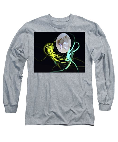 Abstract Flowers Of Light Series #6 Long Sleeve T-Shirt