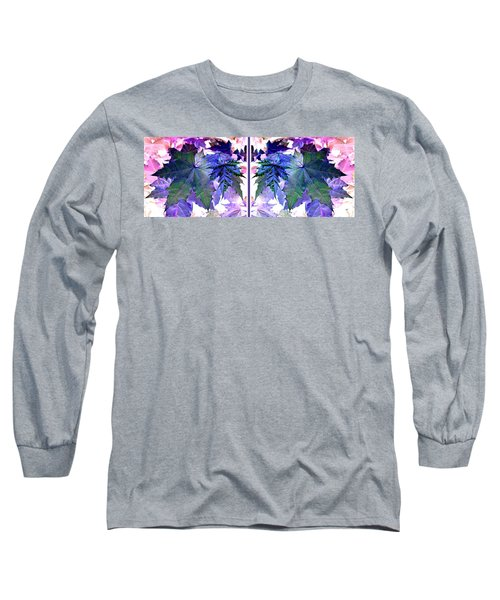 Abstract Fusion 277  Long Sleeve T-Shirt by Will Borden