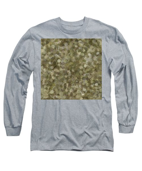 Long Sleeve T-Shirt featuring the photograph Abstract Gold And Cream 2 by Clare Bambers