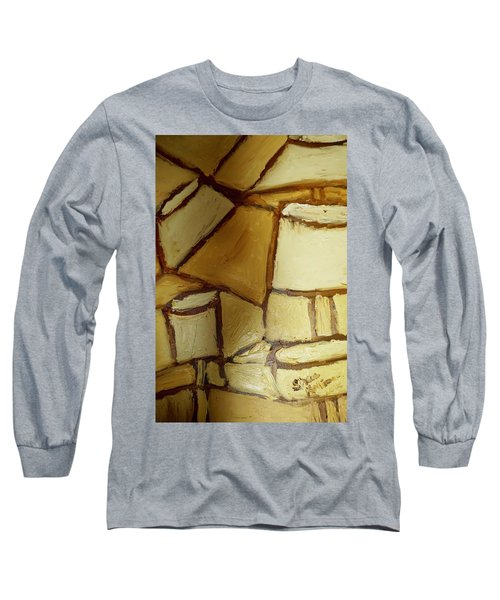 Abstract Lamp #1 Long Sleeve T-Shirt by Shea Holliman