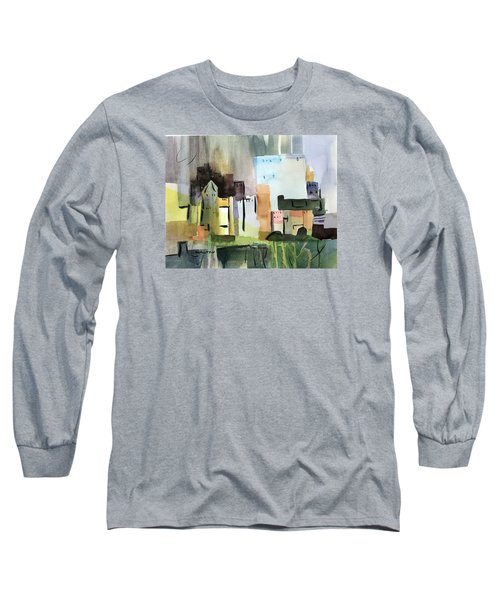 Abstract Opus 5 Long Sleeve T-Shirt by Larry Hamilton
