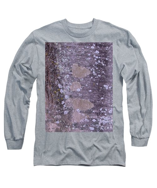 Abstract Photo 001 A Long Sleeve T-Shirt by Larry Capra