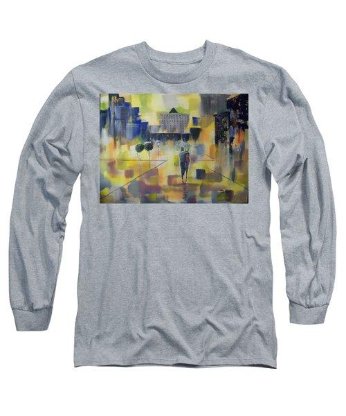 Abstract Stroll Long Sleeve T-Shirt