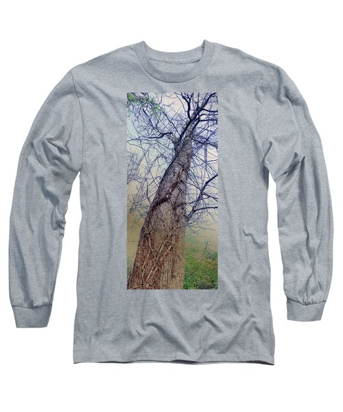 Abstract Tree Trunk Long Sleeve T-Shirt