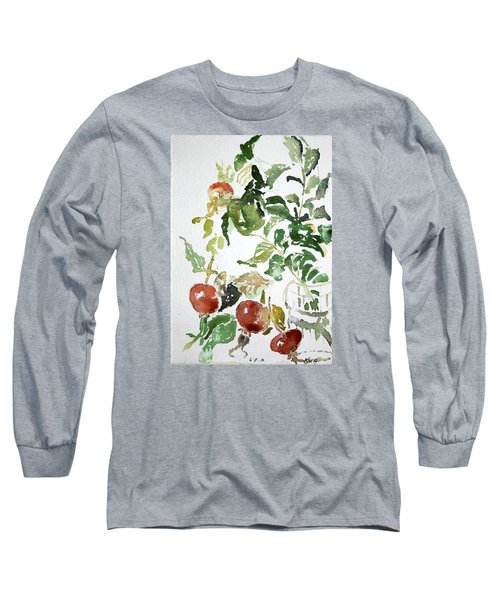 Abstract Vegetables Long Sleeve T-Shirt