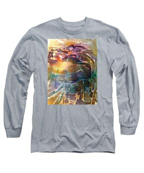Cavern Travel Long Sleeve T-Shirt by Allison Ashton
