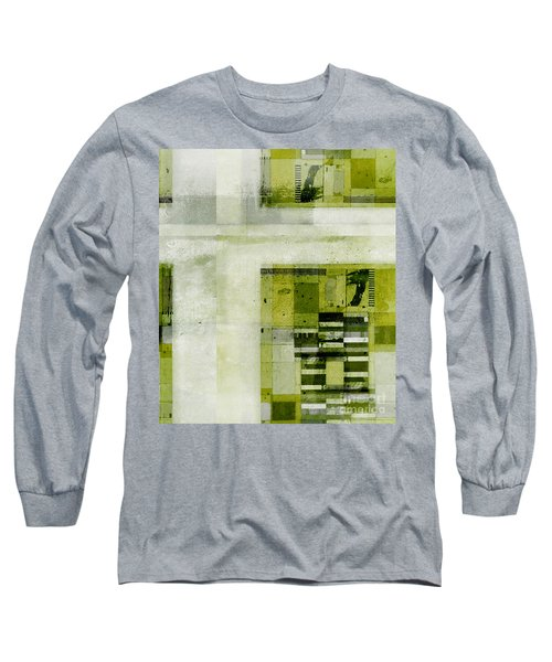 Long Sleeve T-Shirt featuring the digital art Abstractitude - C4bv2 by Variance Collections