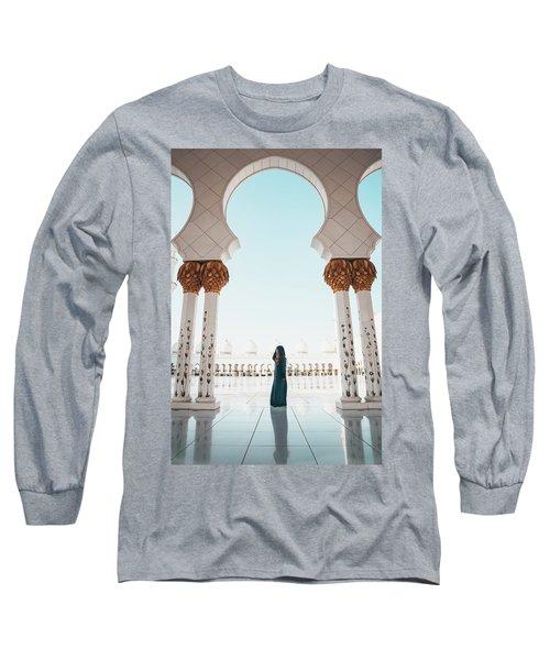Abu Dhabi Mosque Long Sleeve T-Shirt