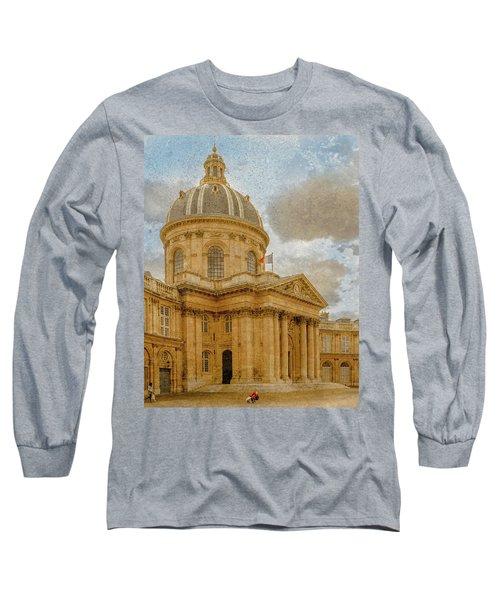 Paris, France - Academie Francaise Long Sleeve T-Shirt