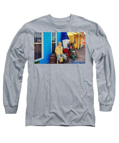 Acadian Fisherman, Prince Edward Island, Canada Long Sleeve T-Shirt