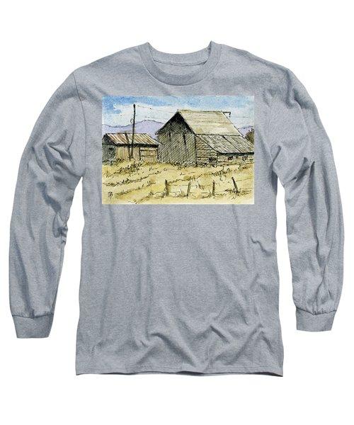 Aceo No 3 Two Barns Long Sleeve T-Shirt