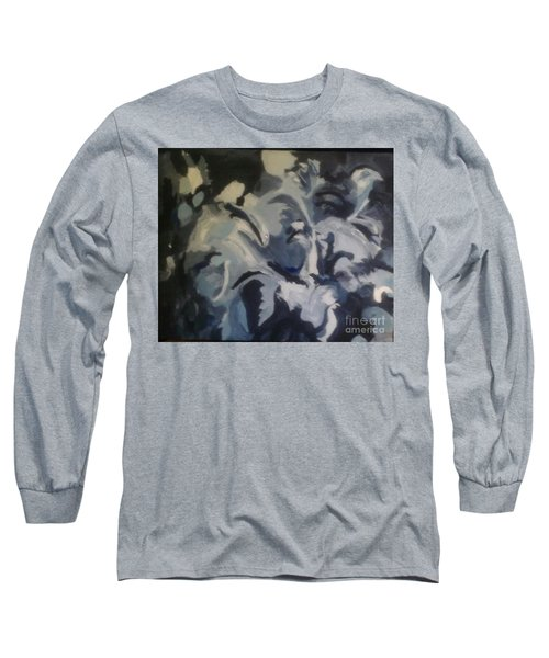 Acrylic Blues Long Sleeve T-Shirt