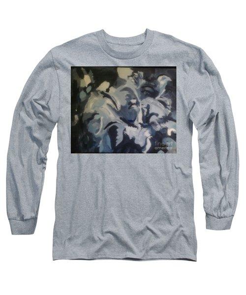 Acrylic Blues Long Sleeve T-Shirt